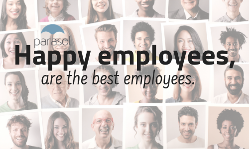 4 Reasons Parasol Makes Happy Employees